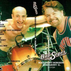 Bob Seger 1996-05-11 Rosemont Horizon, Rosemont, IL DVD