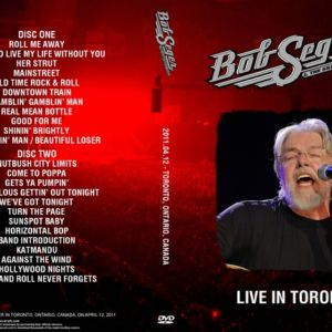 Bob Seger 2011-04-12 Toronto, Canada 2 DVD