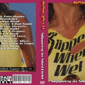 Bon Jovi 1986-11-10 Sheffield, England DVD