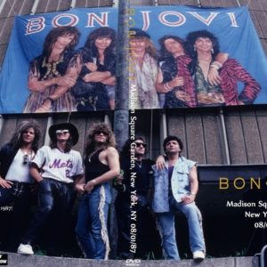 Bon Jovi 1987-08-01 Madison Square Garden, New York, NY DVD