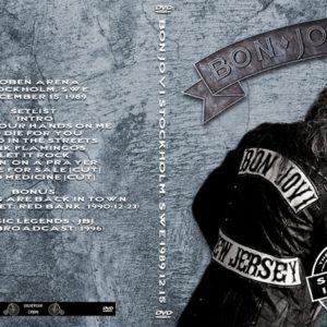Bon Jovi 1989-12-15 Stockholm, Sweden DVD