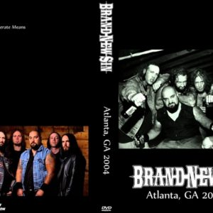 Brand New Sin 2004 Atlanta, GA DVD