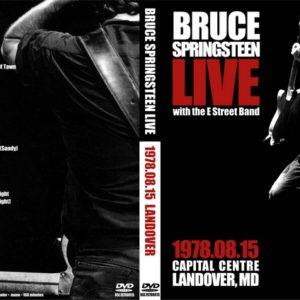 Bruce Springsteen 1978-09-15 Landover, MD 2 DVD