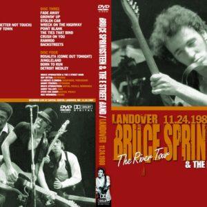 Bruce Springsteen 1980-11-24 Landover, MD 4 DVD