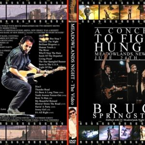 Bruce Springsteen 1993-06-24 A Concert To Fight Hunger 3 DVD