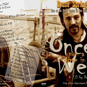 Bruce Springsteen 1996-10-26 Once Upon A Time In The West, San Jose, CA 2 DVD
