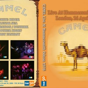 Camel 1976-04-14 Hammersmith Odeon, London, UK DVD