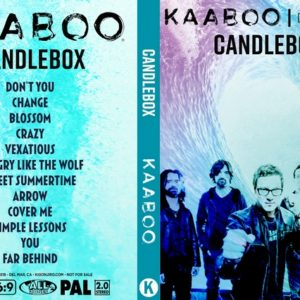 Candlebox 2018-09-16 KAABOO, Del Mar, CA DVD