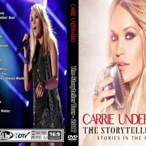Carrie Underwood 2017 The Storytellers Tour DVD