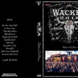 Children Of Bodom 2018-08-03 Wacken, Germany DVD