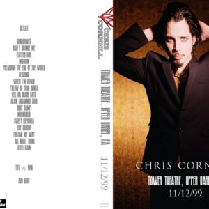 Chris Cornell 1999-11-12 Tower Theatre, Upper Darby, PA DVD