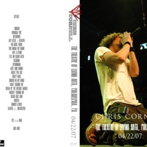Chris Cornell 2007-04-22 The Theatre of Living Arts, Philadelphia, PA DVD