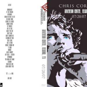Chris Cornell 2007-07-28 Sovereign Center, Reading, PA DVD