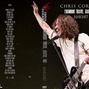 Chris Cornell 2007-10-03 Paramount Theatre, Seattle, WA DVD