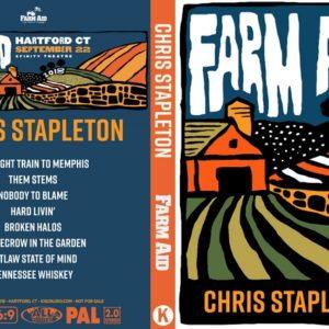 Chris Stapleton 2018-09-22 Farm Aid 33 DVD