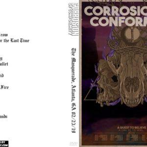 Corrosion Of Conformity 2019-02-23 The Masquerade, Atlanta, GA DVD