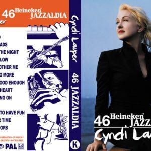 Cyndi Lauper 2011-07-25 Jazzaldia DVD