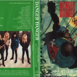 Danger Danger 1991 Unplugged In Japan + 1992-05-22 NHK Hall, Tokyo, Japan 2 DVD