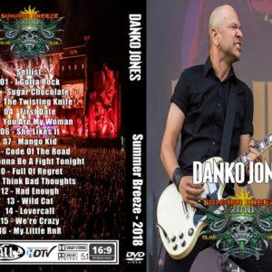 Danko Jones 2018 Summer Breeze DVD
