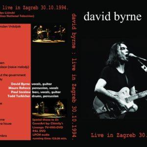 David Byrne 1994-10-30 Zagreb, Croatia DVD