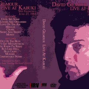 David Gilmour 1984-06-27 San Francisco, CA 2 DVD