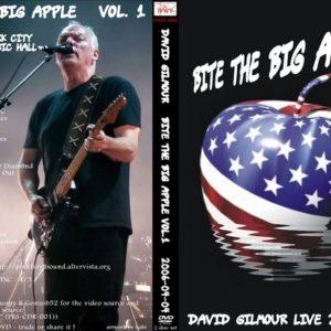 David Gilmour 2006-04-04 Bite The Big Apple Vol.1 2 DVD
