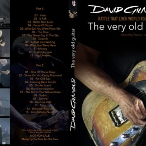 David Gilmour 2016-07-16 The Very Old Guitar, France DVD