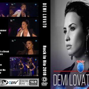 Demi Lovato 2018 Rock In Rio DVD