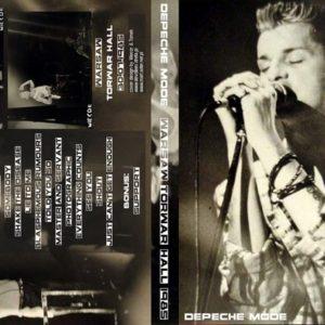 Depeche Mode 1985-07-30 Warsaw, Poland DVD