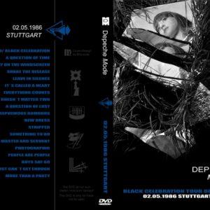 Depeche Mode 1986-05-02 Stuttgart, Germany DVD