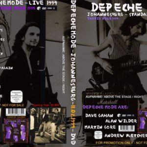 Depeche Mode 1994-02-11 Johannesburg DVD