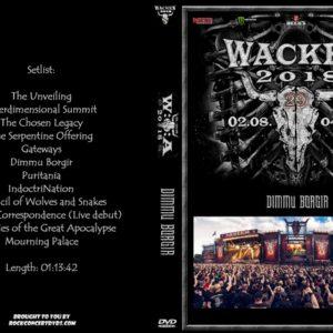 Dimmu Borgir 2018-08-04 Wacken, Germany DVD