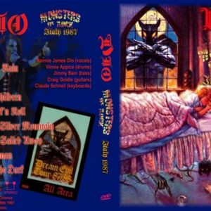 Dio 1987-08-26 Monsters Of Rock, Italy DVD