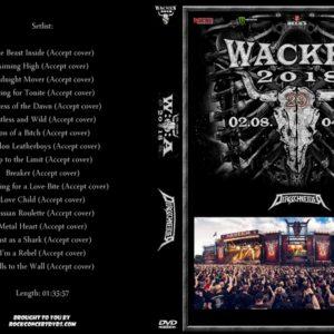 Dirkschneider 2018-08-02 Wacken, Germany DVD