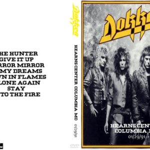 Dokken 1991-01-29 Hearns Center, Columbia, MO DVD