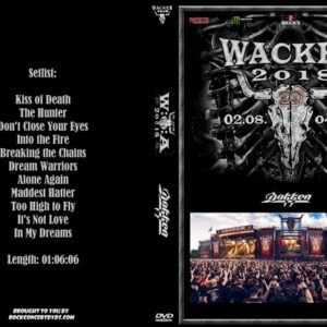 Dokken 2018-08-02 Wacken, Germany DVD