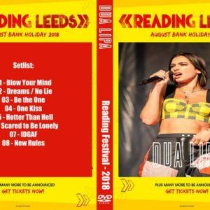 Dua Lipa 2018 Reading Festival, UK DVD