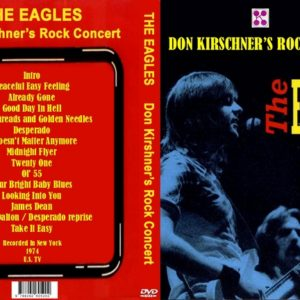 Eagles 1974 Don Kirschner's Rock Concert DVD