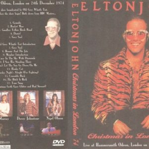 Elton John 1974-12-24 Hammersmith Odeon, London,UK DVD