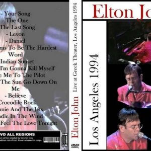 Elton John 1994-09-22 Greek Theater, Los Angeles, CA DVD