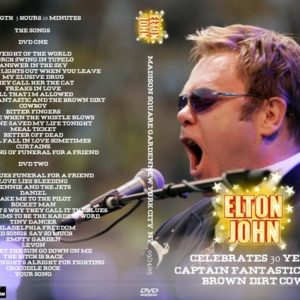 Elton John 2005-09-24 Madison Square Garden, New York, NY 2 DVD