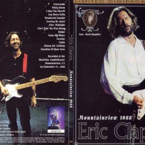 Eric Clapton 1988-09-21 Shoreline Amphitheater, Mountainview, CA DVD