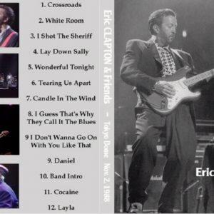 Eric Clapton 1988-11-02 Tokyo, Japan DVD