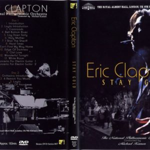 Eric Clapton 1990-02-09 Stay Gold, Royal Albert Hall, London, UK 2 DVD