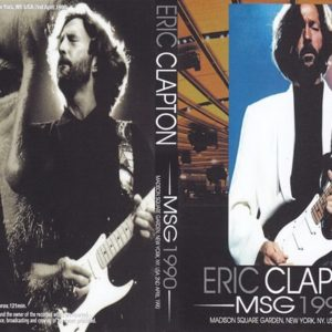Eric Clapton 1990-04-02 Madison Square Garden, New York, NY 2 DVD