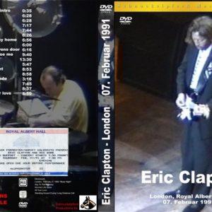 Eric Clapton 1991-02-07 Royal Albert Hall, London, UK DVD