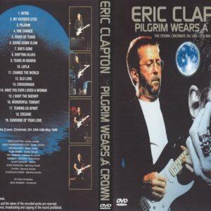 Eric Clapton 1998-05-12 The Crown, Cincinnati, OH DVD