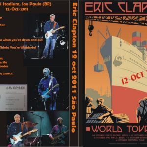 Eric Clapton 2011-10-12 Sao Paulo, Brazil DVD