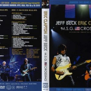 Eric Clapton & Jeff Beck 2010-02-18-19 Madison Square Garden, New York, NY 2 DVD