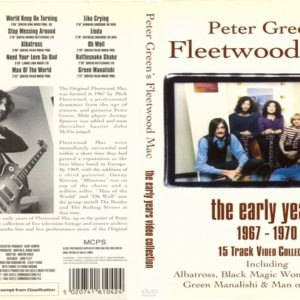 Fleetwood Mac 1967-1970 The Early Years Video Collection DVD
